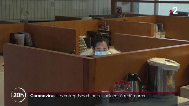 Coronavirus Covid-19 : le difficile retour au travail des salariés en Chine
