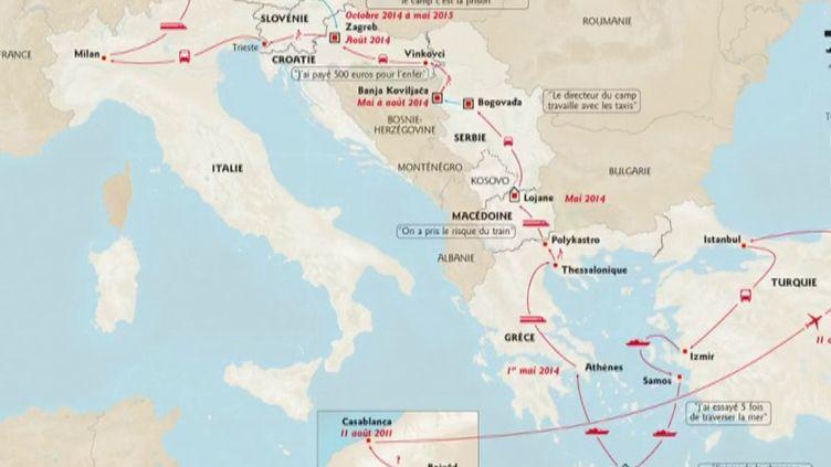 Les migrations se poursuivent en Méditerranée, malgré la pandémie de Covid-19 (FRANCEINFO)