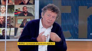 """Le sociologue Jean Viard, invité de """"Votre instant politique"""" sur la chaîne franceinfo, le 29 juin 2021. (FRANCEINFO)"""