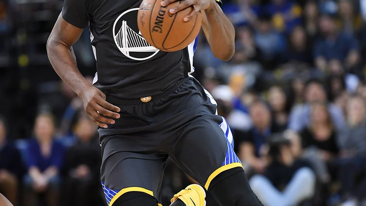 Le joueur des Warriors, Kevin Durant (THEARON W. HENDERSON / GETTY IMAGES NORTH AMERICA)
