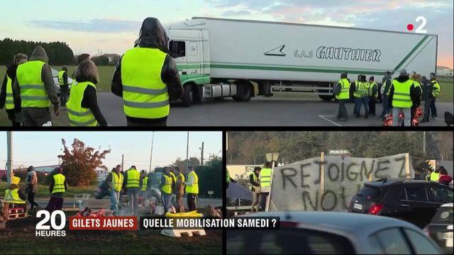 """""""Gilets jaunes"""" : à quelle mobilisation s'attendre samedi ?"""