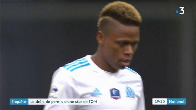 Le joueur de l'Olympique de Marseille Clinton Njie arrêté en possession d'un permis de conduire contrefait