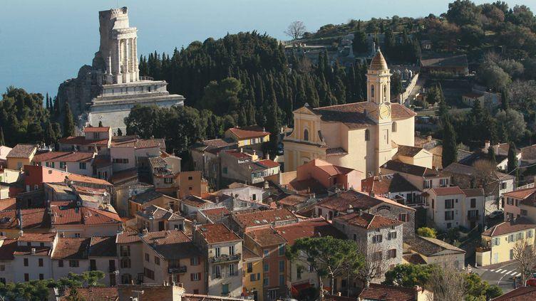 La Turbie dans les Alpes-Maritimes abrite le centre d'entraînement des joueurs de l'AS Monaco. (FRANZ CHAVAROCHE / MAXPPP)