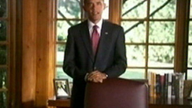 Le président démocrate Barack Obama. (© F2)