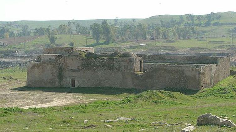 Le plus vieux monastère irakien détruit. (Wkipedia)