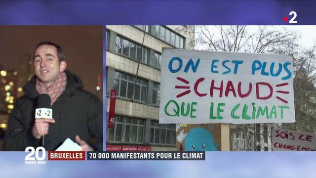 Bruxelles : 70 000 manifestants pour le climat