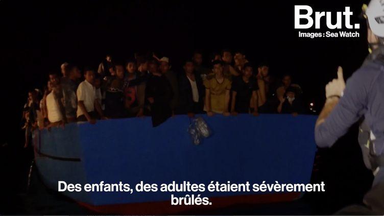 VIDEO. Le quotidien d'un membre de l'ONG Sea-Watch qui porte secours aux migrants naufragés (BRUT)