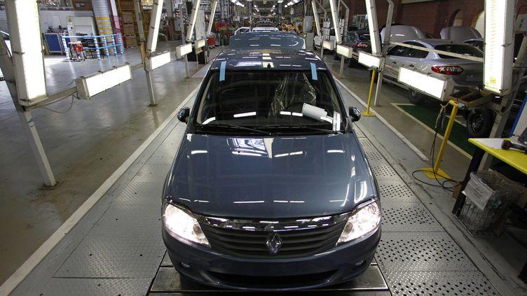 L'avenir s'assombrit encore pour le marché automobile français, avec un recul de 7,8% des immatriculations en octobre 2012 par rapport à octobre 2011,qui s'explique en partie par la contre-performance de Renault. (MAXIM SHEMETOV / REUTERS)