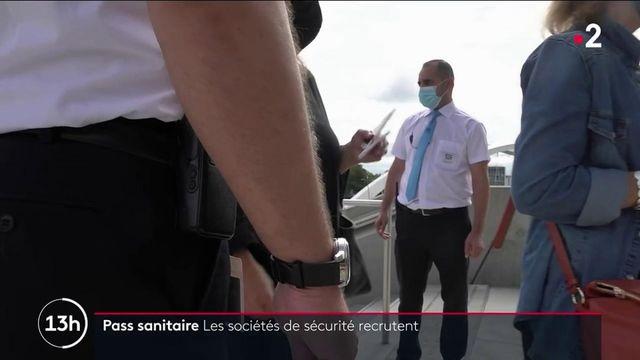 Pass sanitaire : un manque d'agents de sécurité pour contrôler les pass