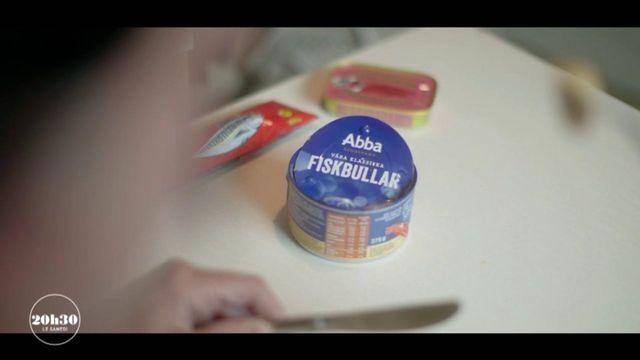 """VIDEO. Eurovision : le groupe ABBA crève l'écran en 1974 avec la chanson """"Waterloo""""... et le même nom qu'une marque de poisson en conserve suédoise"""