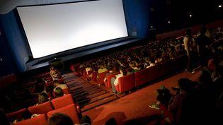 Une salle de cinéma à Lyon, en décembre 2011. (Photo d'illustration) (MAXPPP)