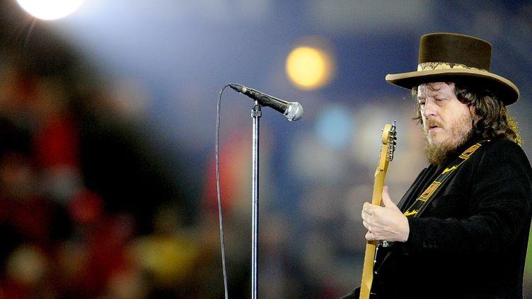 Le chanteur Zucchero, mars 2009 en France  (FRANCK FIFE / AFP)