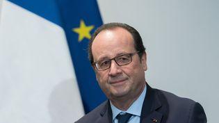 Francois Hollande, le 30 novembre 2015, lors de la COP21 au Bourget (Seine-Saint-Denis). (WITT / SIPA)