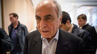 L'homme d'affaires franco-libanais Ziad Takieddine, le 8 octobre 2019 au tribunal à Paris. (MAXPPP)