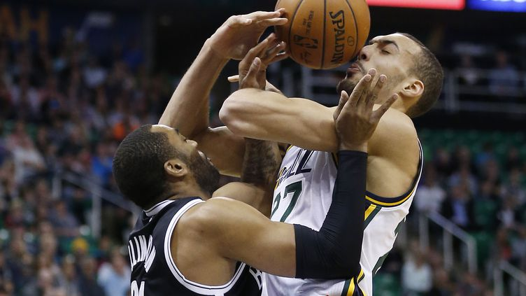 Rudy Gobert sous pression (? USA TODAY SPORTS / REUTERS / X02835)