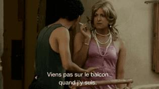 """Malik Benchiha et Bouchta Saïdoun dans """"le beau-frère""""  (DR/Culturebox)"""