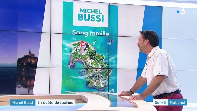 La couverture du livre de Michel Bussi (France 3)