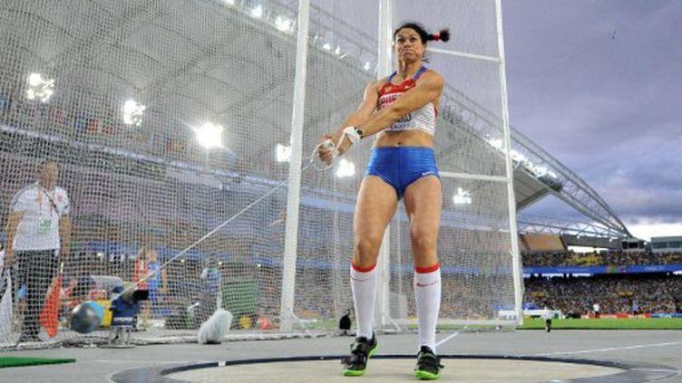Tatyana Lysenko, reine du marteau (JUNG YEON-JE / AFP)
