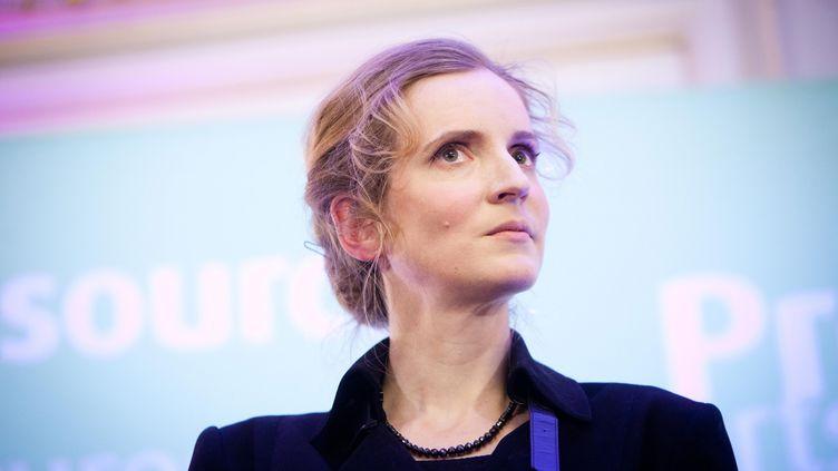 Nathalie Kosciusko-Morizet présente ses vœux aux parlementaires, le 17 janvier 2012. (MARLENE AWAAD / MAXPPP)