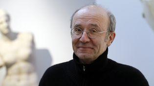 Le dessinateur belge Philippe Geluck, le 8 février 2016, à Paris. (FRANCOIS GUILLOT / AFP)
