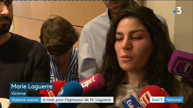 Violences sexistes : six mois de prison pour l'agresseur de Marie Laguerre