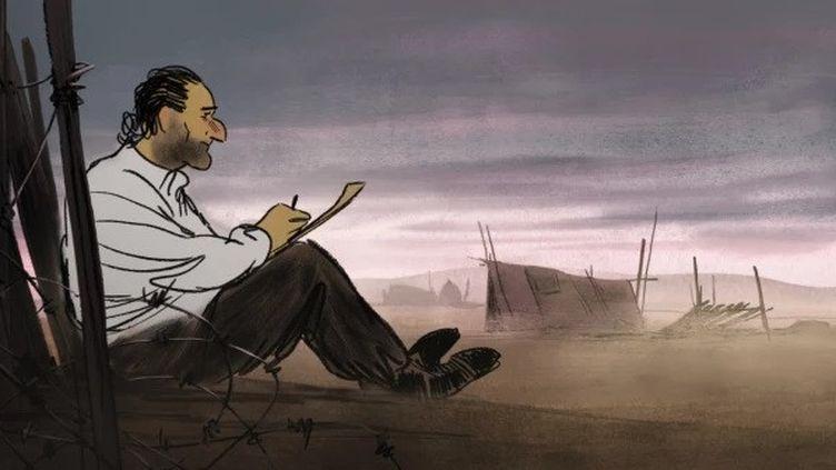 """""""Josep"""" de Aurel. (Copyright Les Films d'Ici Méditerranée)"""