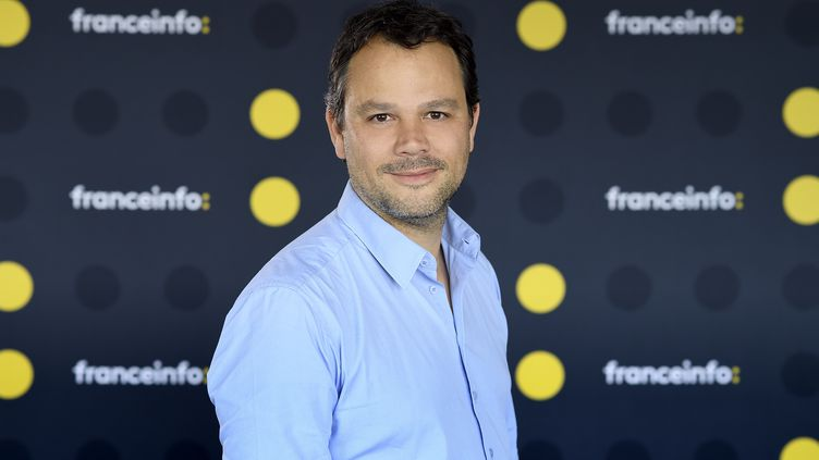 Marc Fauvelle. (CHRISTOPHE ABRAMOWITZ / RADIO FRANCE)