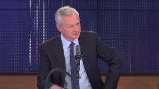 Bruno Le Maire, ministre de l'Economie, invité de franceinfo mardi 13 juillet 2021.  (FRANCEINFO / RADIO FRANCE)