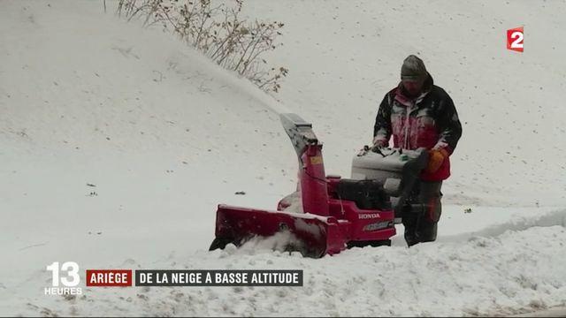 Ariège : la neige est déjà au rendez-vous