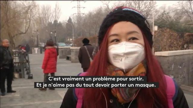VIDEO. En alerte rouge, la Chine étouffe sous un épais brouillard de pollution