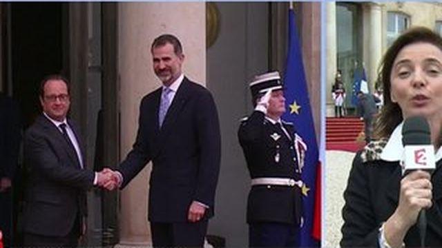 Le roi d'Espagne Felipe VI en visite en France pendant trois jours