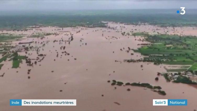 La mousson est meurtrière en Inde en 2019 (France 3)