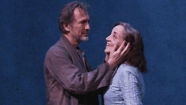 """Dominique Blanc et Christian Gonon dans """"Poussière"""" de la Lars Norén à la Comédie-Française  (France 3 / Culturebox )"""