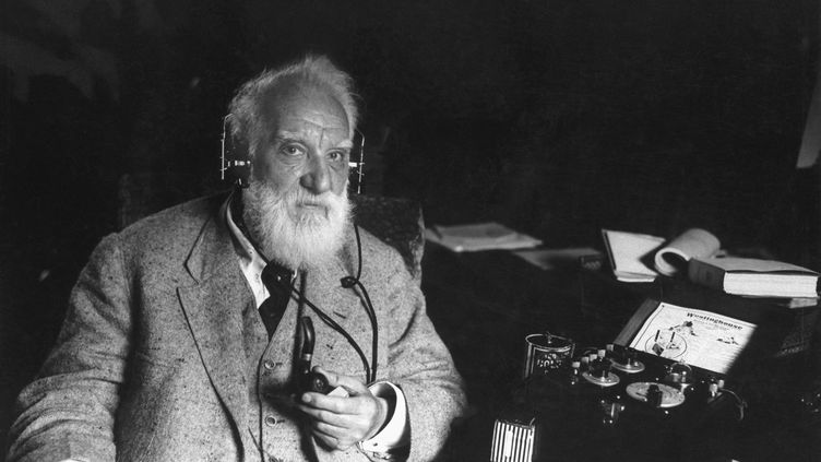 L'inventeur du téléphoneAlexander Graham Bell (1847-1922). (HISTORICAL / CORBIS HISTORICAL)