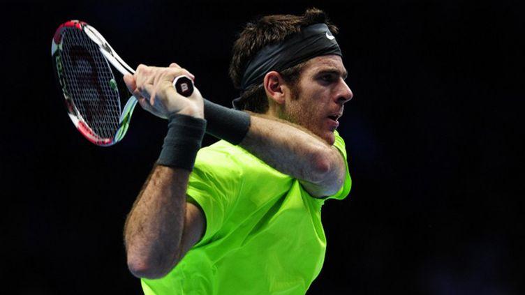 Juan Martin Del Potro s'est qualifié pour les demi-finales du Masters de Londres en dominant Roger Federer