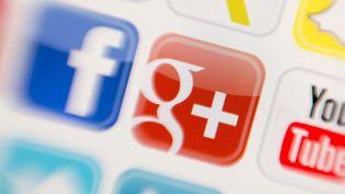 Le logo du réseau social de Google. (TOBIAS HASE / DPA / AFP)