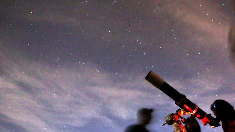 Cette 30e édition de la Nuit des étoiles sera particulièrement favorable à l'observation de la planète Mars. Photo d'illustration. (LIONEL VADAM  / MAXPPP)