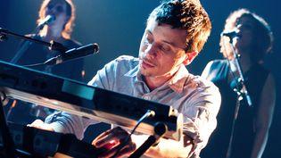 Olivier Marguertit, alias O, en concert à l'Olympia de Paris, le 29 mars 2011. (SAMUEL DIETZ / WIREIMAGE)