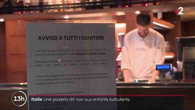 Italie : un restaurant ferme la porte aux enfants mal élevés