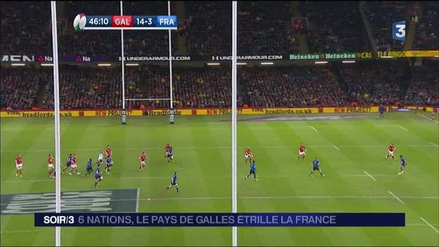 Tournoi des six nations : le XV de France battu par le Pays-de-Galles