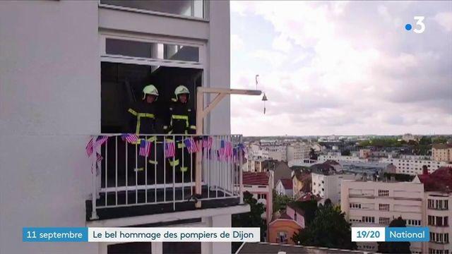 Attentats du 11-septembre : les pompiers dijonnais rendent hommage aux pompiers décédés