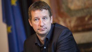 L'eurodéputé Europe Ecologie-Les Verts (EELV) Yannick Jadot,le 20 octobre 2014 à Paris. (  MAXPPP)