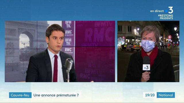 Couvre-feu à Paris : une annonce prématurée ?