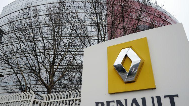 Le siège de Renault à Boulogne-Billancourt. (BERTRAND GUAY / AFP)