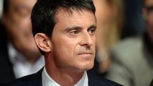 Manuel Valls au Congrès du PS, le 6 juin 2015 à Poitiers (Vienne). (JEAN-PIERRE MULLER / AFP)