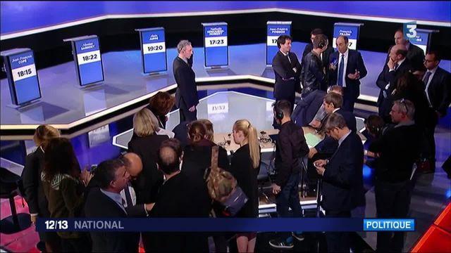 Primaire de la droite : l'après-débat des candidats