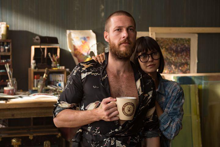 """Luke Bracey et Nina Dobrev dans """"Lucky Day"""" (2019) de Roger Avary. (BROOKE PALMER / METROPOLITAN FILMEXPORT)"""