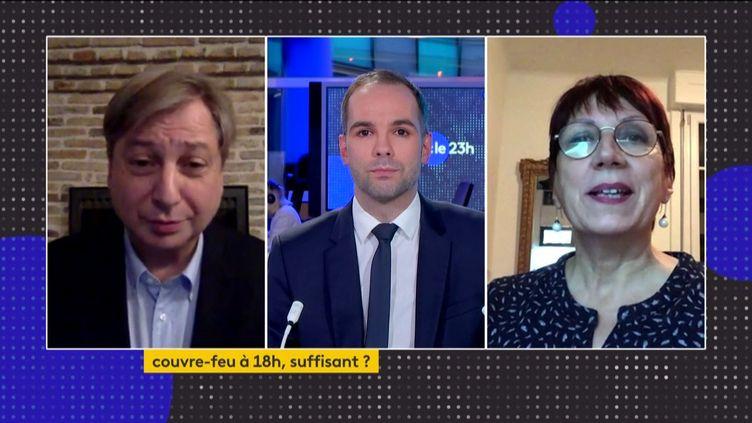 François Grosdidier et Anne Vignot interrogés par Martin Baumer (FRANCEINFO)