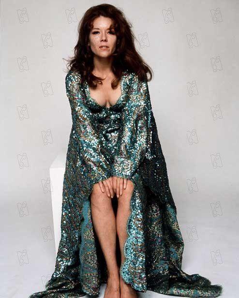 """Diana Rigg : photo promotionnelle pour """"Au service secret de Sa Majesté""""  (United Artists)"""