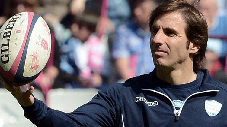 L'entraîneur du Stade Français, Gonzalo Quesada